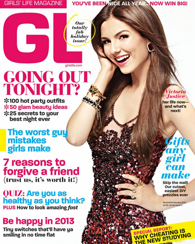 Girl's Life Magazine Cover