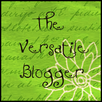 Versatile Blogger Award - Awarded by Cartoons & Creative Writing and Rebecca Fraser-Thill